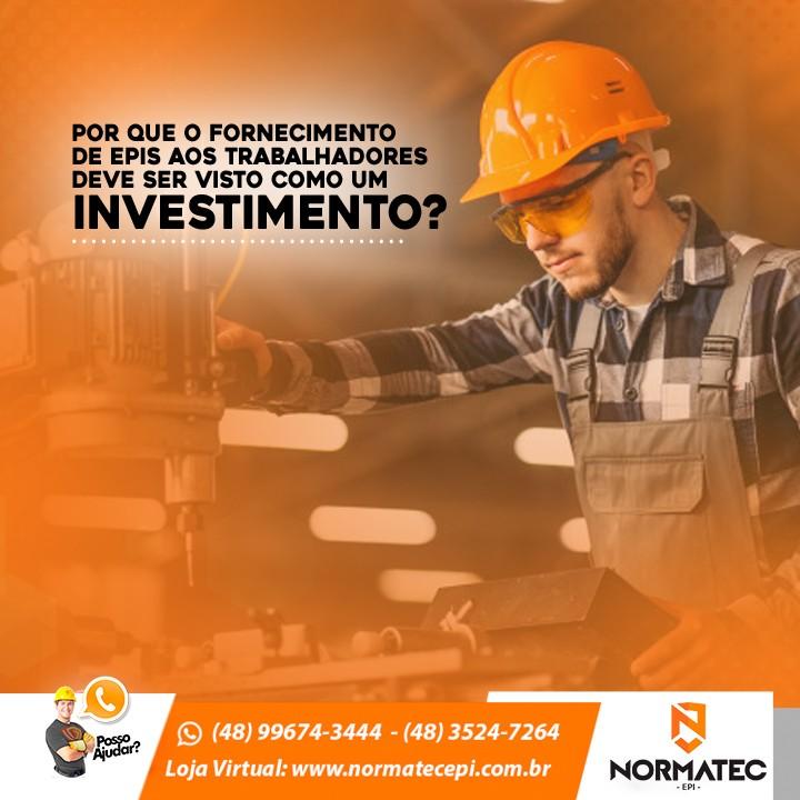 Por que o fornecimento de EPIs aos trabalhadores deve ser visto como um investimento?